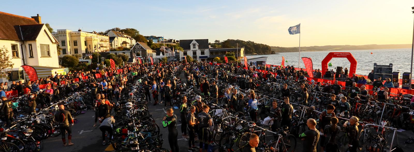 3-year partnership extension with host WICC for Saundersfoot Triathlon